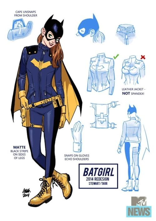 Batgirl's New Outfit