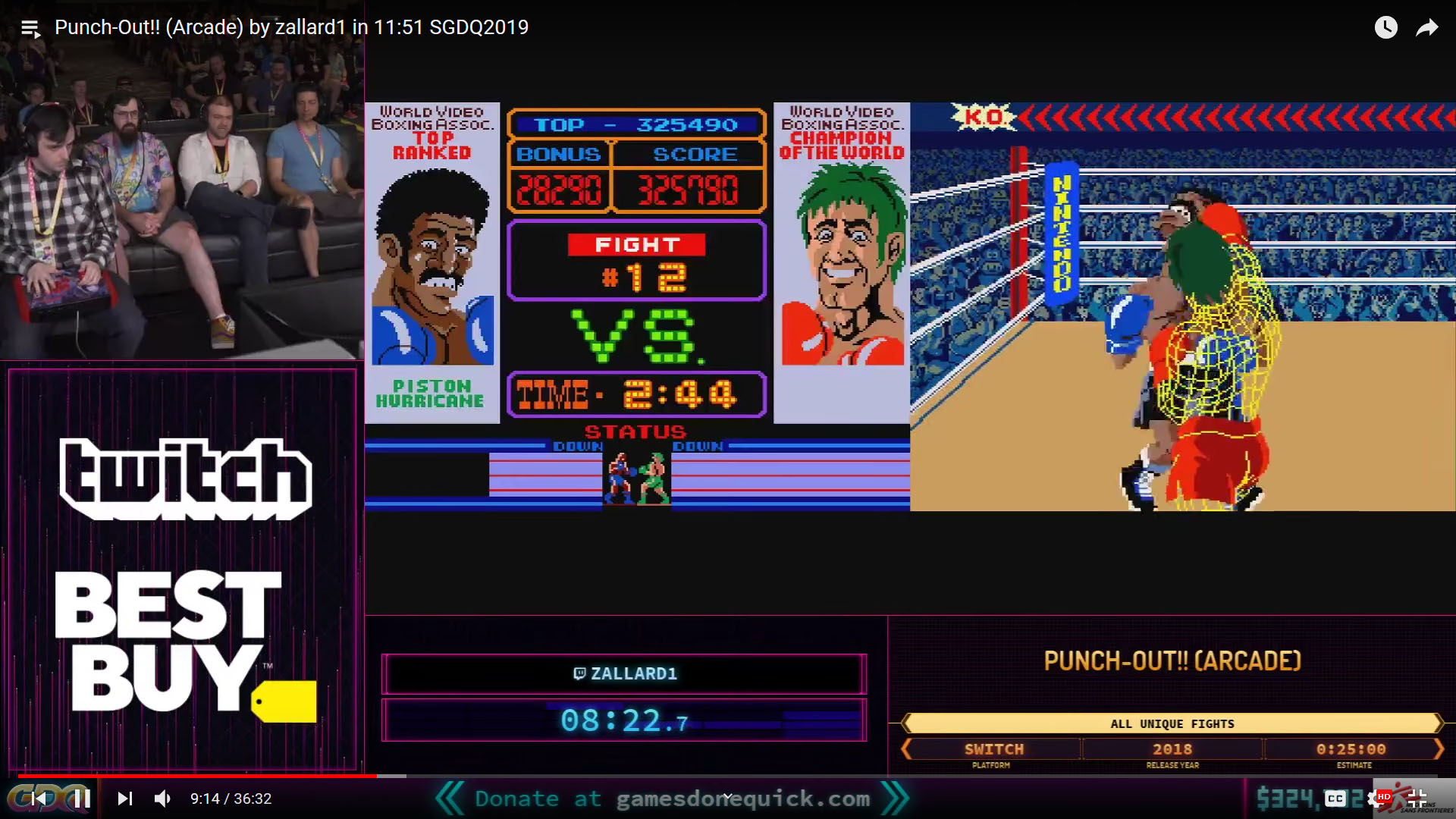 Punch-Out Arcade All Unique Fights