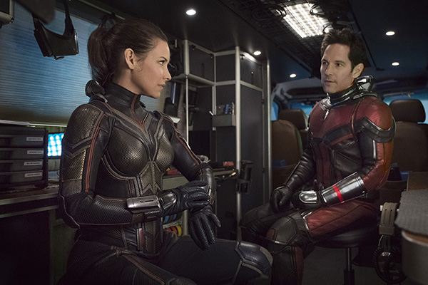 The Heroes of Ant-Man and the Wasp