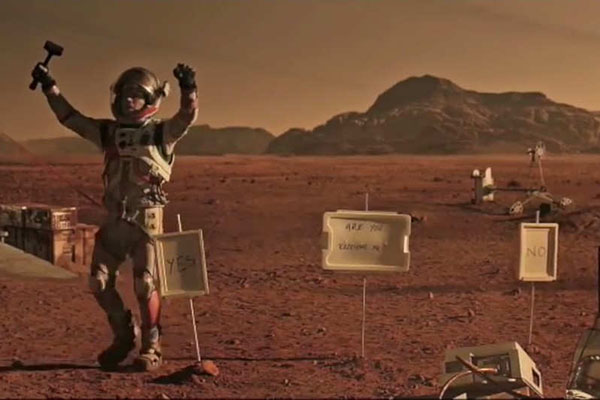 Don't Die Alone on a Cold, Red Planet