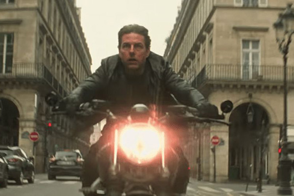 Gun Man Runs Fast in Mission: Impossible 6